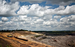 шахта ironstone Стоковое фото RF