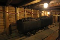 Шахта St Барбары под техническим музеем в Загребе Стоковая Фотография