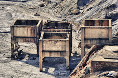 шахты rio губят tinto Испании Стоковое фото RF