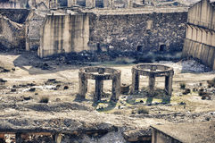 шахты rio губят tinto Испании Стоковое Фото