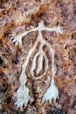 Шахты Timna парка и короля Solomon's Стоковое фото RF