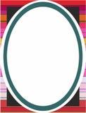 Шаловливая красочная предпосылка рамки Стоковая Фотография RF