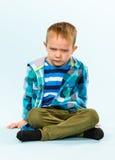 Шаловливый мальчик Стоковое Фото