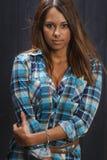 шальная девушка горячая Стоковые Фотографии RF