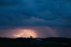 Шальная молния Стоковое Изображение RF