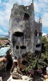 Шальная дом в Dalat, Вьетнам Стоковое Изображение RF