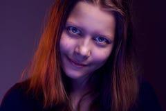 Шальная сумашедшая предназначенная для подростков девушка Стоковая Фотография RF