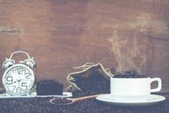 Шальной влюбленн в кофе Стоковые Фотографии RF