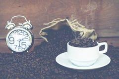 Шальной влюбленн в кофе Стоковое Изображение