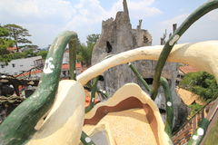 Шальной дом в Lat Da, Вьетнаме Стоковое Изображение