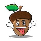 Шальной стиль персонажа из мультфильма жолудя бесплатная иллюстрация