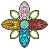 Шальной цветок Стоковое Изображение RF