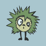 шальной hedgehog Стоковое фото RF