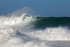 Шальные моря Стоковое Изображение