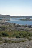 Шведский архипелаг стоковое фото