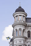 Шведский дворец Стоковые Фотографии RF