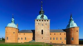 Шведский замок в Kalmar Стоковые Изображения RF
