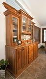 шведский стол обедая комната hutch стоковое фото rf