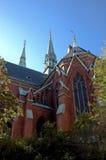 шведский язык собора Стоковое Изображение