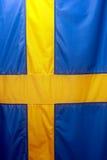 шведский язык флага Стоковые Изображения