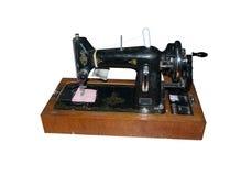 Швейная машина опытного человека Стоковые Фотографии RF