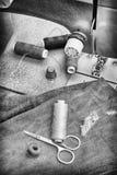Швейная машина старая Стоковые Фотографии RF