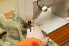 Швейная машина стоковое изображение rf