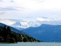 Швейцарец Альпы Majastic Стоковые Фотографии RF
