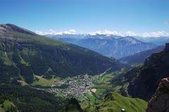 швейцарец горы ландшафта Стоковая Фотография