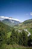 швейцарец ландшафта alps Стоковые Фото
