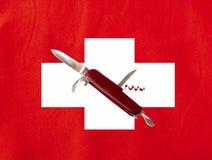 швейцарец лезвия Стоковое Изображение