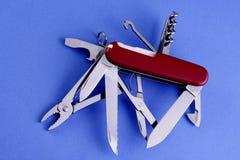 швейцарец ножа армии стоковое изображение rf