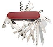 швейцарец ножа армии Стоковое фото RF
