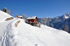 швейцарец праздника коттеджа Стоковая Фотография RF