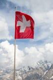 швейцарец флага Стоковые Фотографии RF