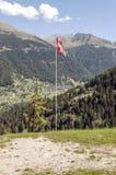 швейцарец флага Стоковые Изображения