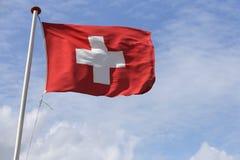 швейцарец флага Стоковое Изображение RF