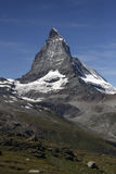 швейцарец Швейцария matterhorn alps Стоковые Фото