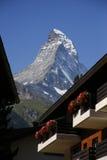 швейцарец Швейцария matterhorn alps Стоковое Изображение RF