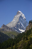 швейцарец Швейцария matterhorn alps Стоковая Фотография RF