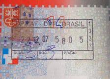 швейцарец штемпеля пасспорта Стоковое Фото