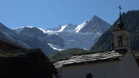 Швейцарец Riedgletscher Стоковое Изображение RF