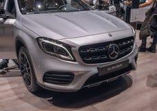 Швейцария; Женева; 8-ое марта 2018; Benz GLA 200 d Мерседес стоковые изображения