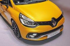 Швейцария; Женева; 8-ое марта 2018; Renault Clio r S фронт; стоковые изображения