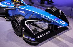 Швейцария; Женева; 8-ое марта 2018; Renault e Формула e мечт стоковые изображения rf