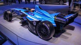 Швейцария; Женева; 8-ое марта 2018; Renault e Формула e мечт стоковое фото