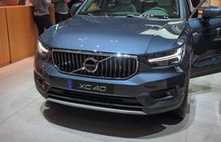 Швейцария; Женева; 8-ое марта 2018; Volvo XC 40; 88th внутри стоковое изображение rf