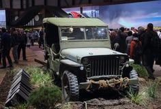 Швейцария; Женева; 8-ое марта 2018; Willys 1941; 88th интерн стоковое изображение rf