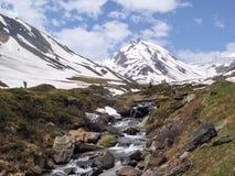 Швейцария 2013 - пропуски путешествия высокогорные стоковая фотография