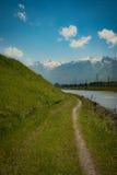 Швейцария Рейн Стоковые Изображения
